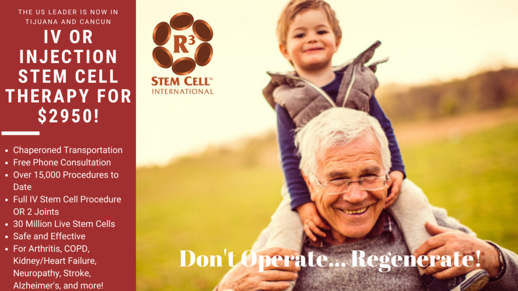 stem cell treatment clinic Mexico